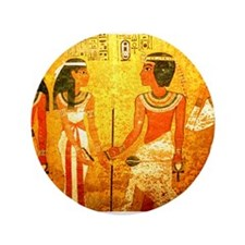 "Cool Egyptian Art 3.5"" Button (100 pack)"