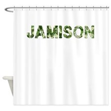 Jamison, Vintage Camo, Shower Curtain