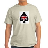 United Kingdom Poker Ash Grey T-Shirt