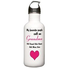 Grandma Personalized Water Bottle