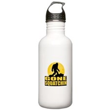 Gone Squatchin - Bark at the Moon Water Bottle