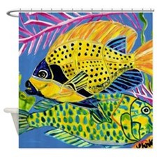 Tropical Fish Shower Curtain