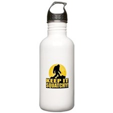 Keep It Squatchy! - Bark at the Moon Water Bottle