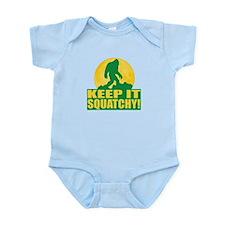 Keep It Squatchy! - Bark at the Moon Infant Bodysu
