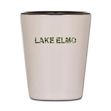 Lake Elmo, Vintage Camo, Shot Glass