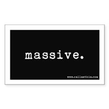"""Massive"" Decal"
