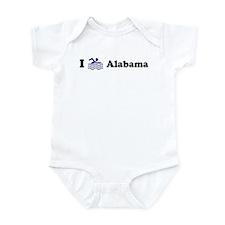 Swim Alabama Infant Bodysuit
