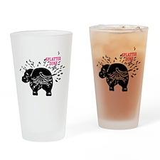 Splatter Zone Drinking Glass