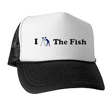 I Stargaze The Fish Trucker Hat