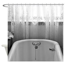 Cute Bathtub Shower Curtain