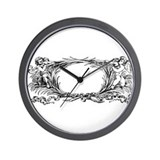 'Sacred Space' Wall Clock (Black & White)