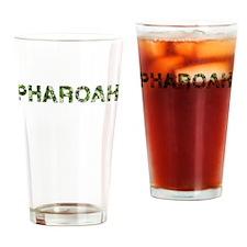 Pharoah, Vintage Camo, Drinking Glass