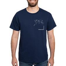 Marrakech geocode map T-Shirt