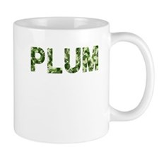 Plum, Vintage Camo, Mug