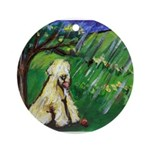Wheaten spring Ornament (Round)