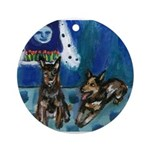 Australian cattle dog Ornament (Round)