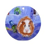 guinea pig Ornament (Round)