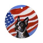 Boston patriot Ornament (Round)