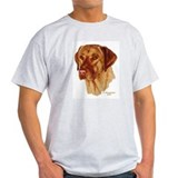 Fox Red Labrador Ash Grey T-Shirt