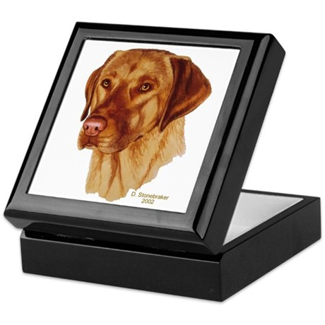 Fox Red Labrador Keepsake Box