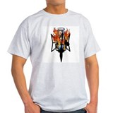 Fire Mic Shirt Back T-Shirt