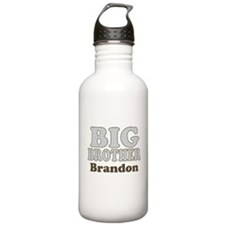 Custom name Big Brother Sports Water Bottle