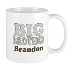Custom name Big Brother Mug
