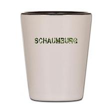 Schaumburg, Vintage Camo, Shot Glass