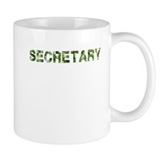 Secretary, Vintage Camo, Mug