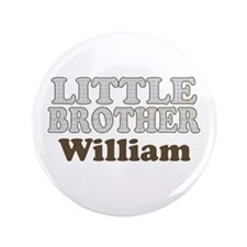 "Custom name little brother 3.5"" Button"