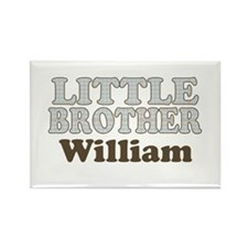 Custom name little brother Rectangle Magnet
