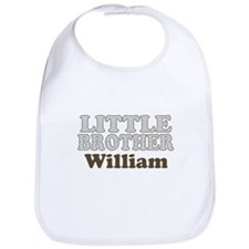 Custom name little brother Bib