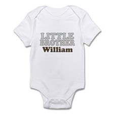 Custom name little brother Infant Bodysuit