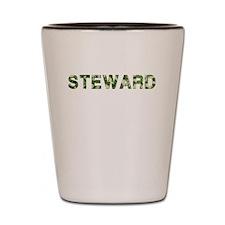 Steward, Vintage Camo, Shot Glass