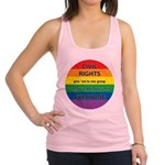 CRGE-Civil-Rights---Give-em.png Racerback Tank Top