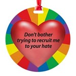 DBTT-Don't-Bother-Trying-to.png Round Ornament