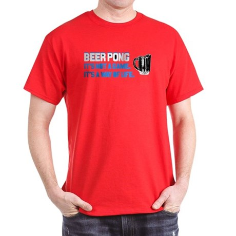 Beer Pong T-Shirt (Dark Colors)
