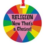 RNTA-RELIGION-Now-That's-a-.png Round Ornament