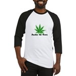 Smokin the Green (pot) Baseball Jersey