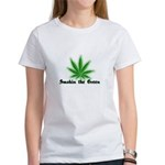 Smokin the Green (pot) Women's T-Shirt