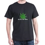 Smokin the Green (pot) Dark T-Shirt