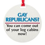 GRYC-Gay-Republicans---You-.png Round Ornament
