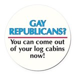 GRYC-Gay-Republicans---You-.png Round Car Magnet