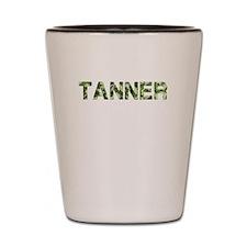 Tanner, Vintage Camo, Shot Glass