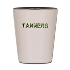 Tanners, Vintage Camo, Shot Glass