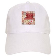 Friendships Are Like Quilts Baseball Cap