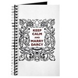 Keep Calm and Marry Darcy Journal