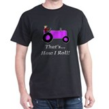 Purple Tractor How I Roll T-Shirt