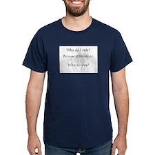 Funny Horse lover art T-Shirt
