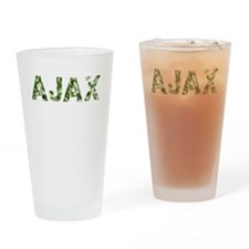 Ajax, Vintage Camo, Drinking Glass